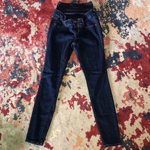 Denim - Old Navy Rockstar maternity jeans